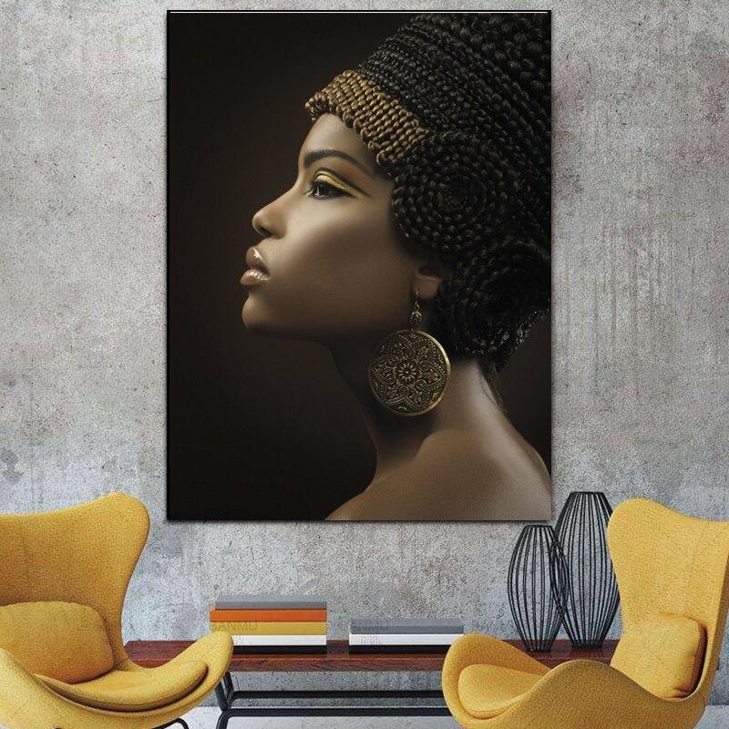 Egyptian Painting - African Woman