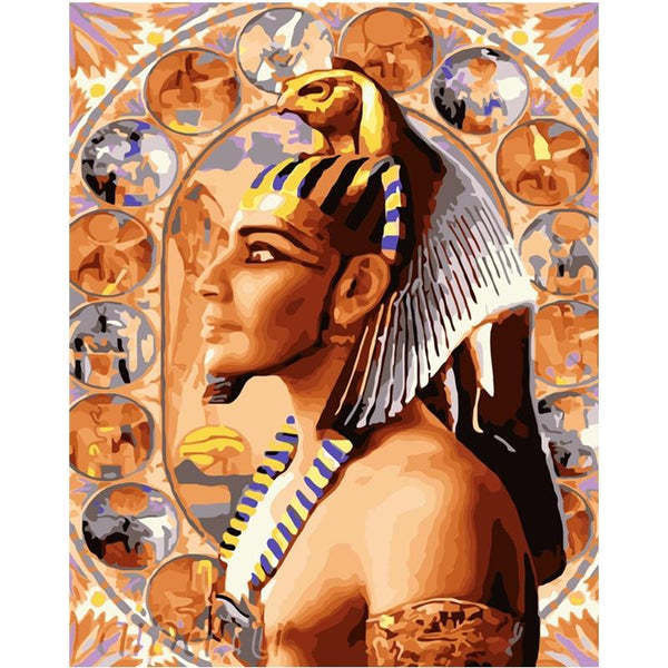 Egyptian Painting - Color