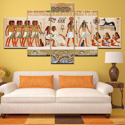 Egyptian Painting - Decoration