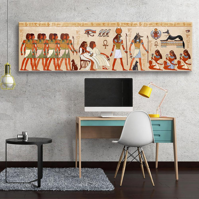 Egyptian Painting - People