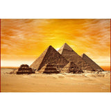 Egyptian Painting - Pyramid