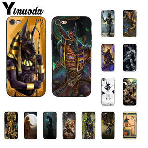 EGYPTIAN PHONE CASE - ANUBIS GOD (iPhone)