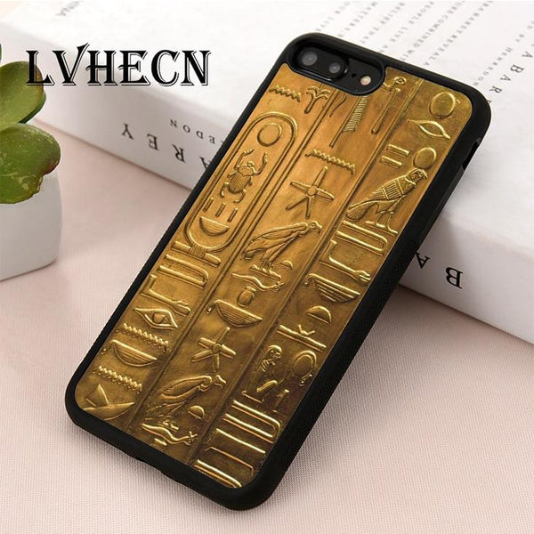 EGYPTIAN PHONE CASE - HIEROGLYPH (iPhone)