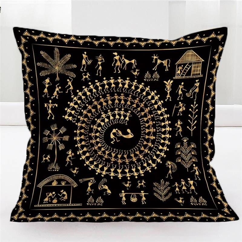 EGYPTIAN PILLOW - BLACK GOLD