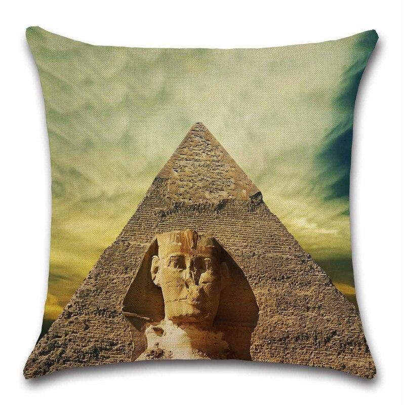 EGYPTIAN PILLOW - PYRAMIDS