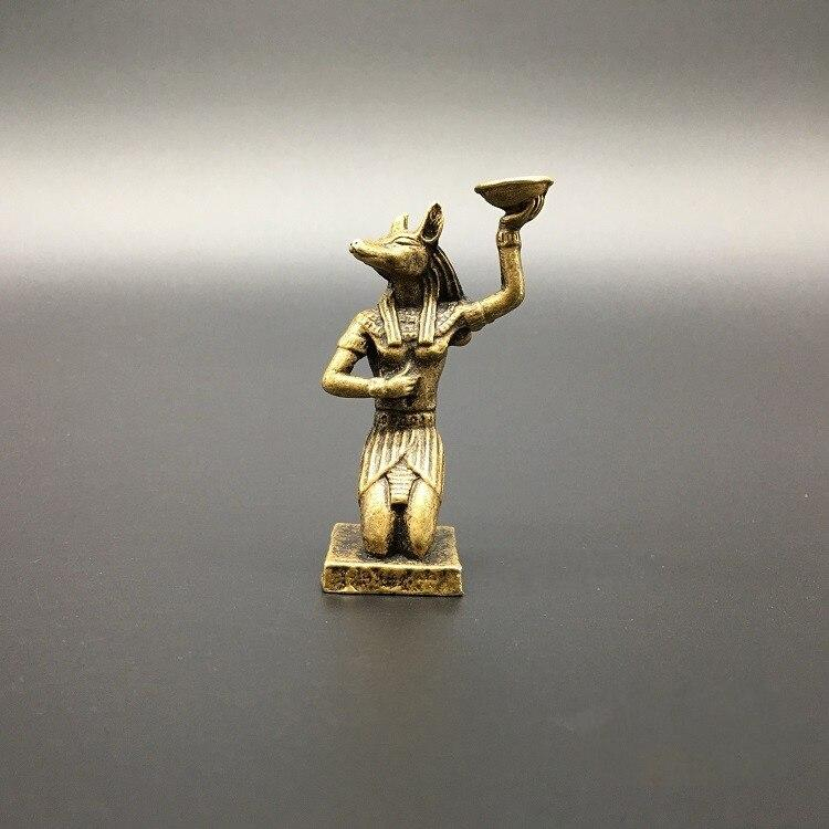 EGYPTIAN STATUE - ANUBIS INCENSE BURNER