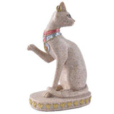 EGYPTIAN STATUE - Cat Bastet (Natural Sandstone)