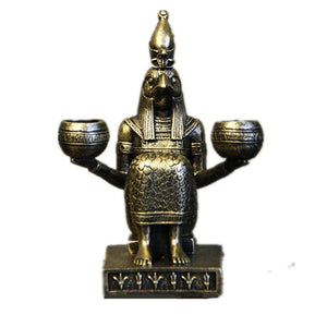 Egyptian Statue - Pharaoh Candle Holder