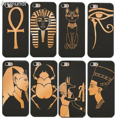 EGYPTIAN SYMBOLS iPHONE CASE