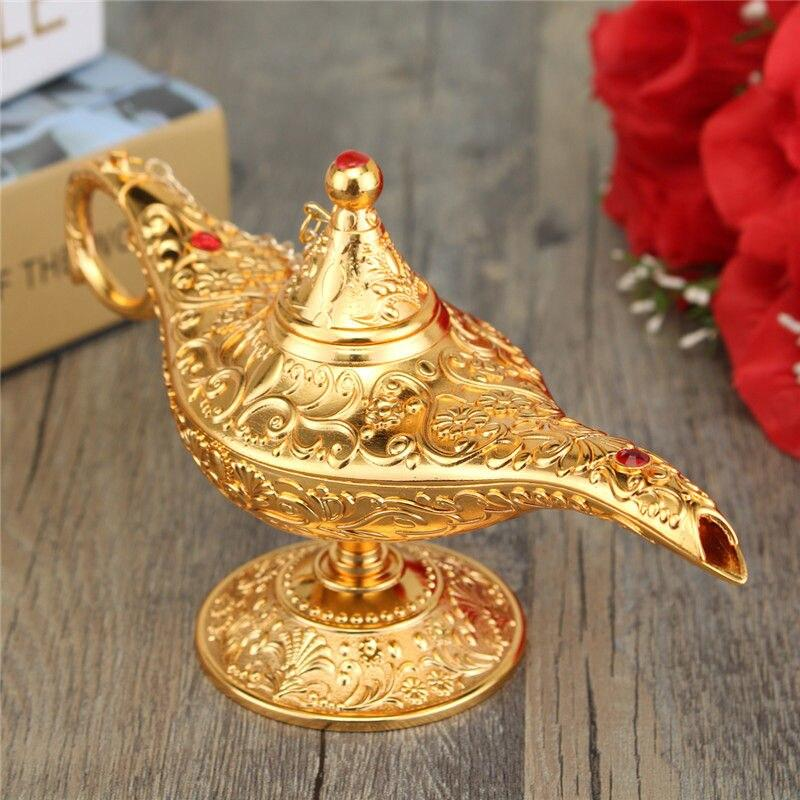 GENIE LAMP - Classic Metal Carved