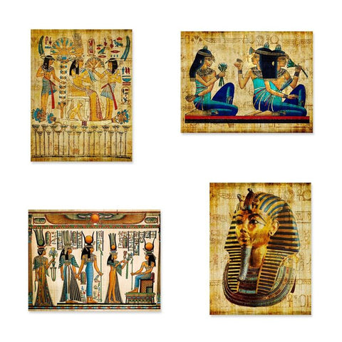 Monochrome Scandinavian Egyptian Painting