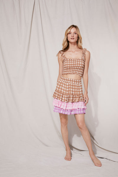 Penelope Skirt Gingham