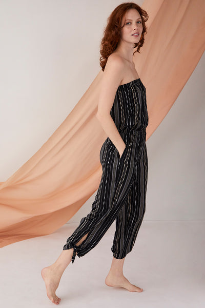 Maya Jumpsuit Horizon Stripe