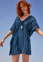 Positano Tunic Horizon Stripe