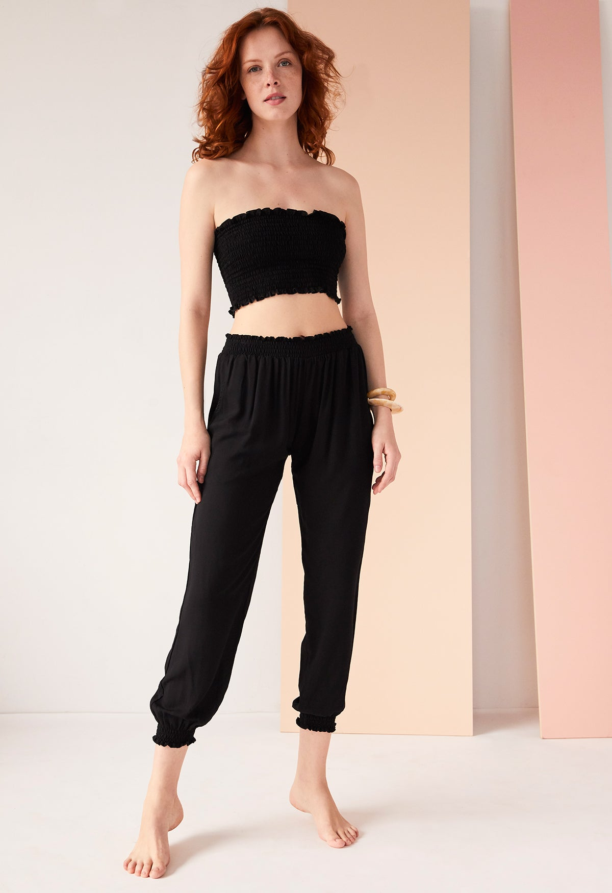 Bodrum Pant Solid