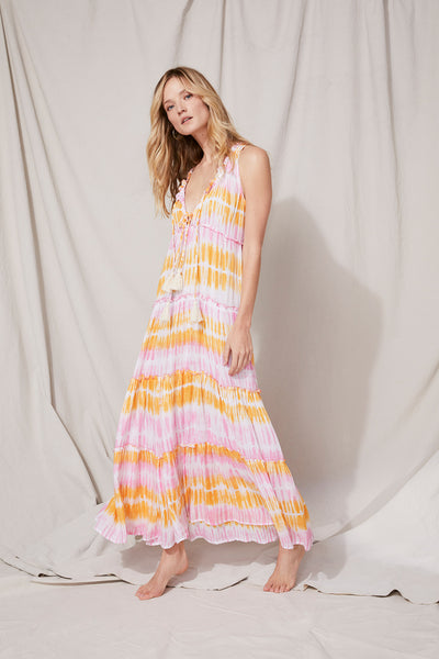 Everly Dress Tie-Dye