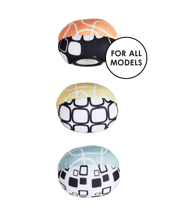 mamaRoo replacement toy balls - cool mesh