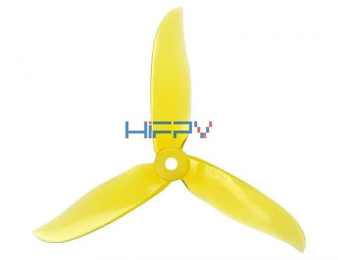 DAL Cyclone 5050 Tri-Blade High End Propeller (Set-of 4) yellow