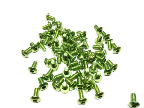 3x8 aluminum screws green 7075 Aluminium