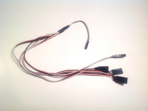 Calibration servo wires