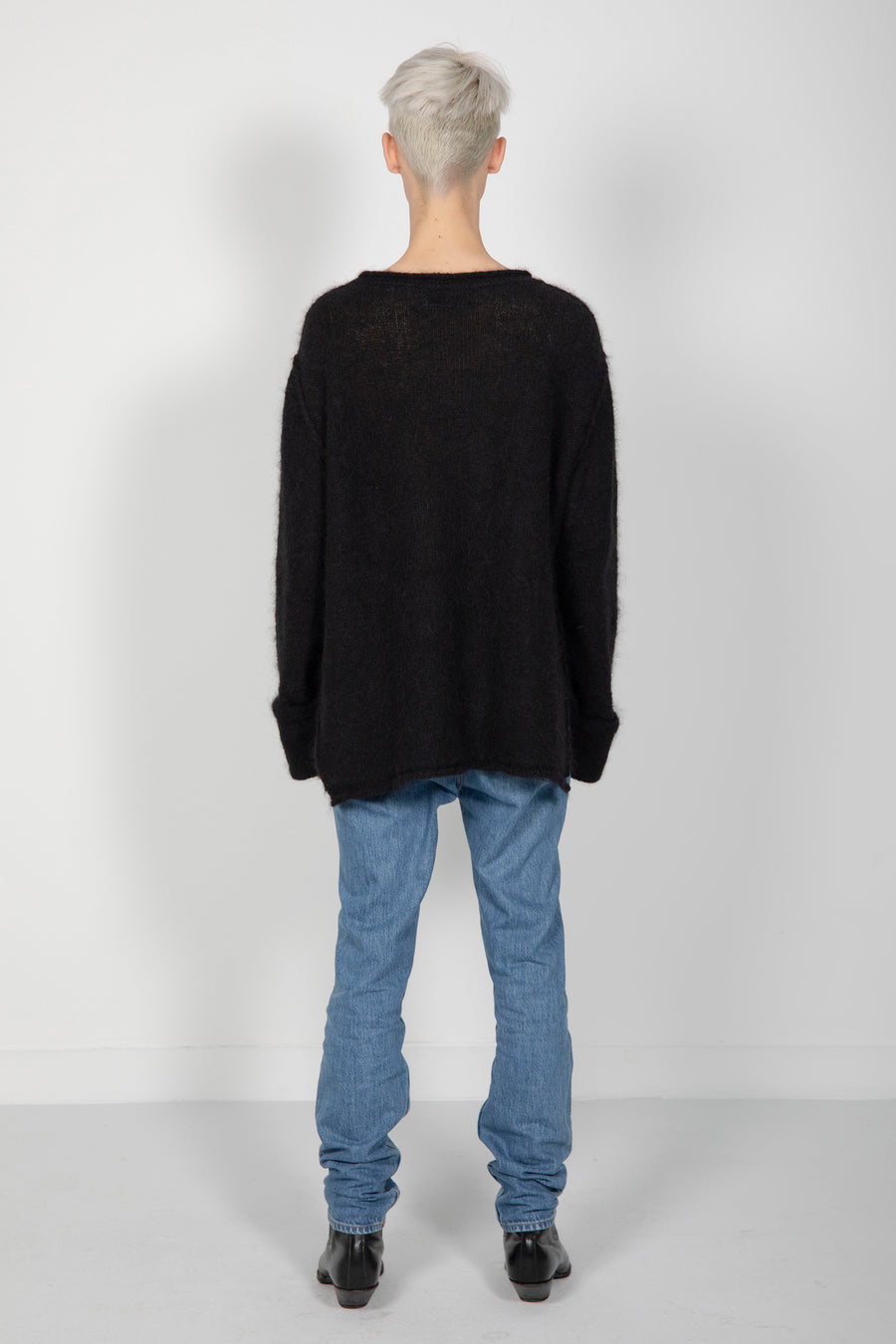 Sweater Alpaca Solid Black