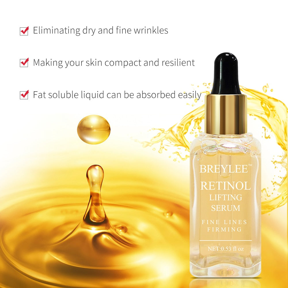 Gold Firming Serum with Vitamin A