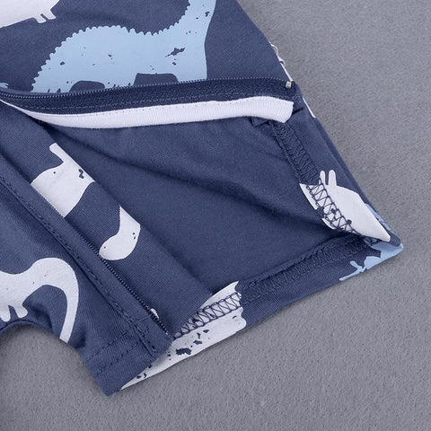 Image of Dinosaur Zipper Romper
