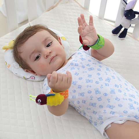 Image of Baby Wrist Rattle