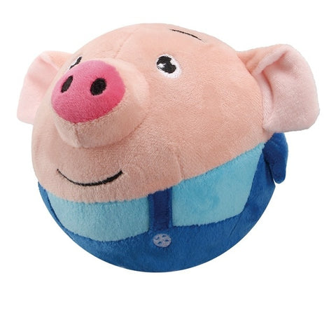 Plush Bouncing Piggy