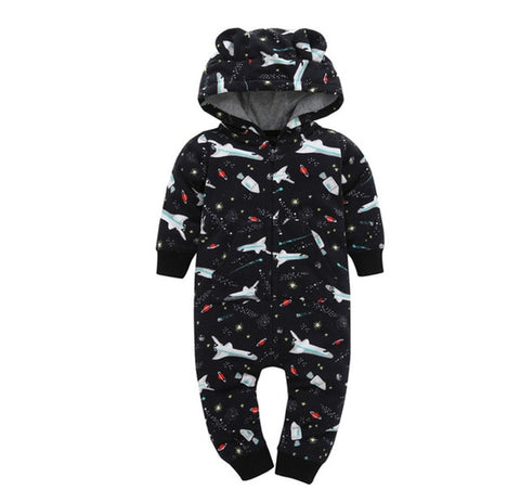 Hooded Romper for Babys
