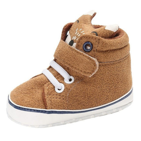 Image of Cute Slip-Shaped Baby Fox Shoes
