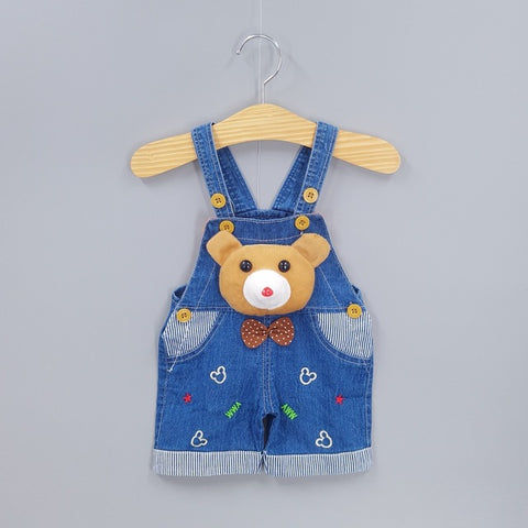 Image of Baby Cartoon Jean Romper