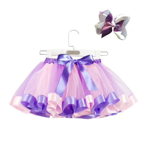 Girls Unicorn T-Shirt and Tutu Outfit