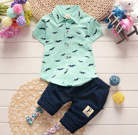 Image of Stylish Baby Boy Clothes Set