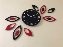 Acrylic Wall Clock Set 36 Inch x 24 Inch