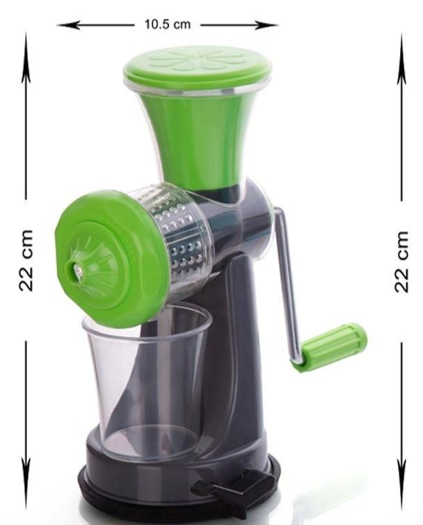 Fruit & Vegetable Manual Nano Juicer - Green Color