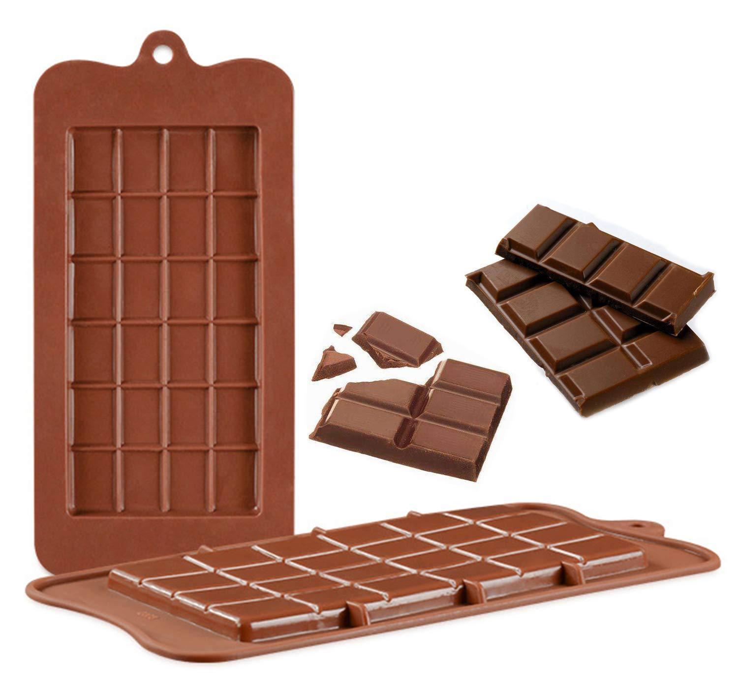 2 Pcs Chocolate Silicon Mould