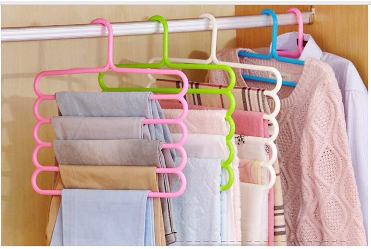 5 Layer Clothes Hanger [Set Of 3]