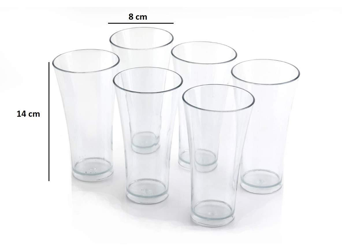 Unbreakable Plastic Glass [Set of 6]
