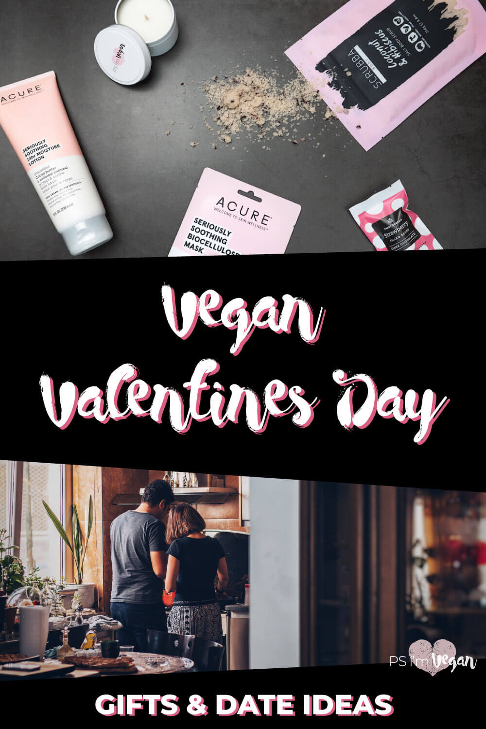 Need vegan Valentine's Day gifts and romantic date ideas for that special someone? We've got you covered with our huge guide including vegan Valentine's day recipes for desserts, heart-shaped cookies, romantic mains and entrees, a vegan charcuterie board to take on a picnic, and more. Plus the best vegan gifts to buy, vegan chocolates, cheese and champagne and how to find vegan restaurants near you! 💝🌱🍫 #vegan #valentinesday #romantic #PSIV #vegangifts #shop