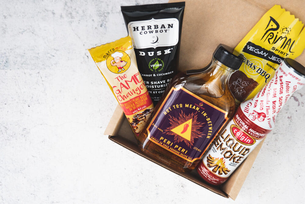 mens vegan gift hamper for him vegan fathers day hamper