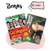 Go Vegan Package - Nutrition Posters and Shopping List