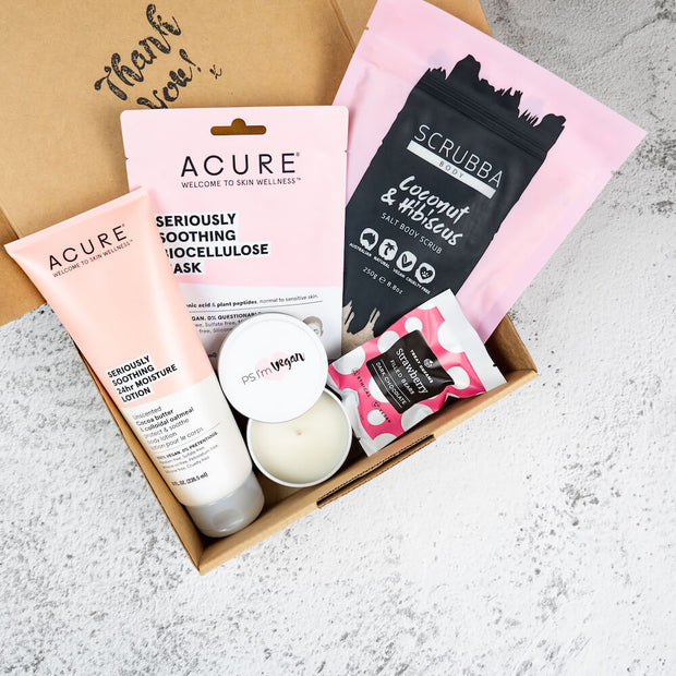 Pink Pamper Hamper - Vegan Gift Box