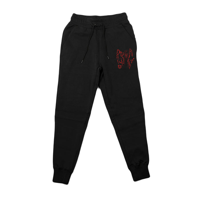 RBMG BLOODY JOGGERS (BLACK)