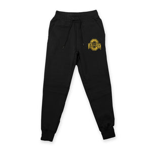 OH REALLLYYY GOLD JOGGERS (BLACK)