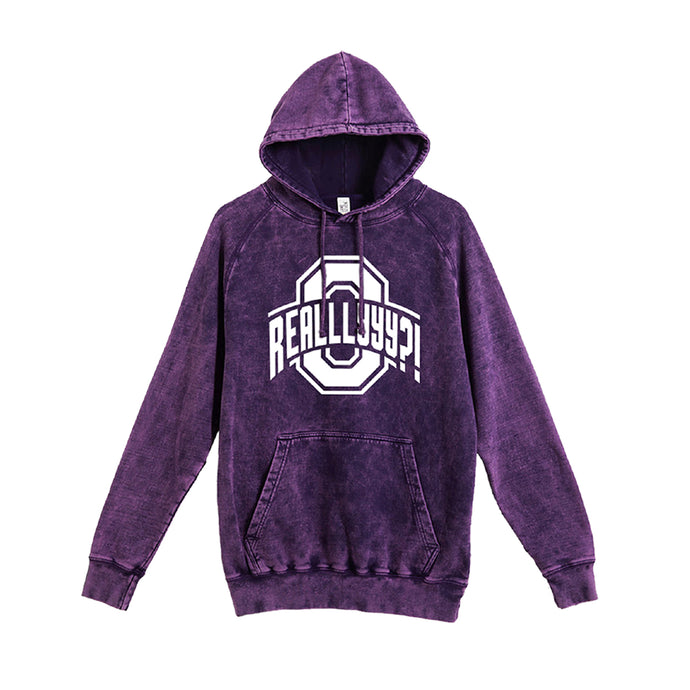 Oh Realllyyy Low Key Hoodie (Purple/White)