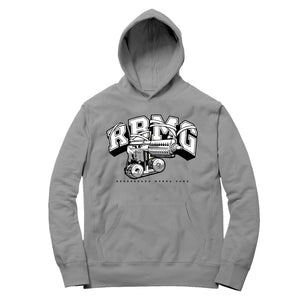 RBMG GUN HOODIE (HEATHER GREY)