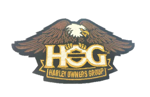 HOG Patch Small (Eagle)