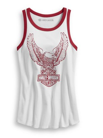 Women's Retro Eagle Tank