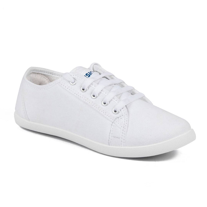 White Denim Casual Shoes for women